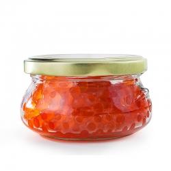 Keta Lachskaviar 200 g Zarendom Premium Gold, Glas