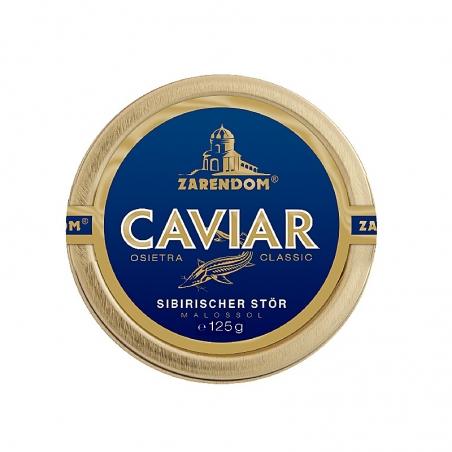 Zarendom® Kaviar vom Sibirischen Stör 125g