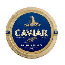 Zarendom® Kaviar vom Sibirischen Stör 250g