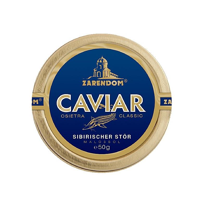 Zarendom® Kaviar vom Sibirischen Stör 50g