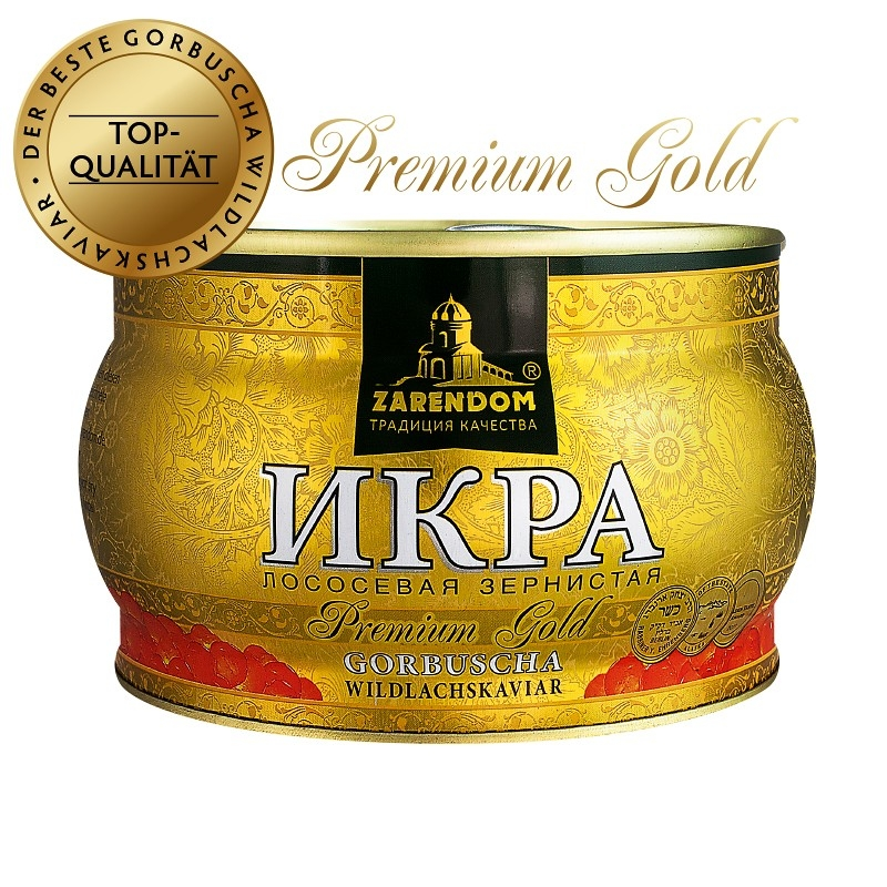 Gorbuscha Lachskaviar Zarendom® Premium Gold 400 g Dose