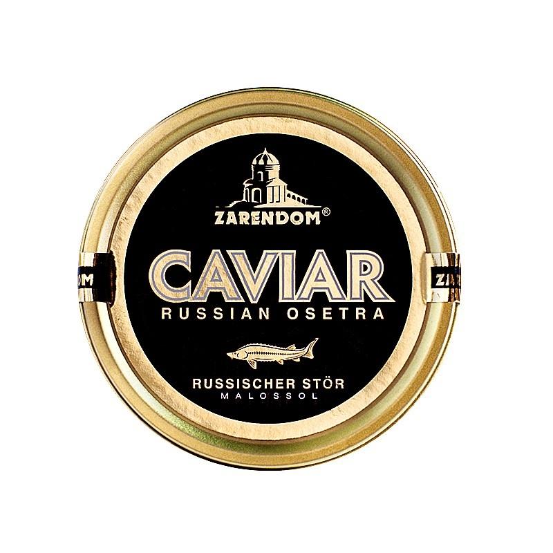 Zarendom® Kaviar vom Russischen Stör 125g