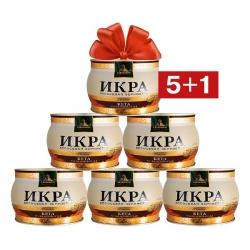 Zarendom Aktion: 5+1 250 g Zarendom Premium Keta Lachskaviar