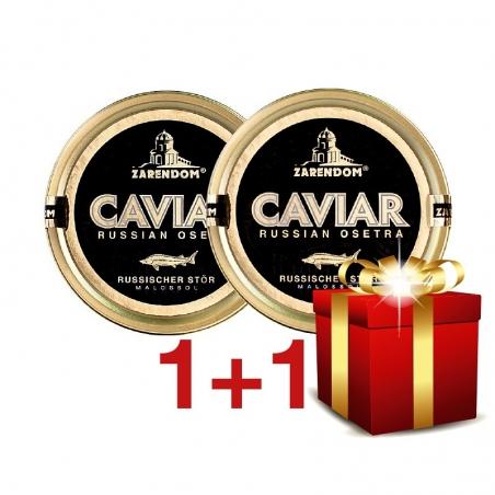 1+1 Zarendom® Kaviar vom Russischen Stör 50g