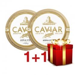 1+1 Zarendom® Kaviar vom Adria Stör 125g
