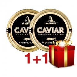 1+1 Zarendom Kaviar vom Russischen Stör 125g