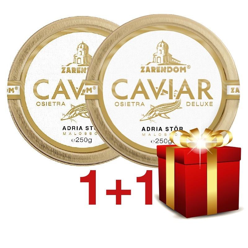 1+1 Zarendom® Kaviar vom Adria Stör 250g