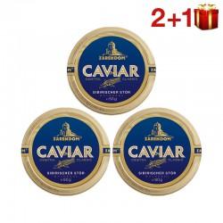 """""""2+1"""" 50g Kaviar vom Sibirischen Stör Zarendom®"""