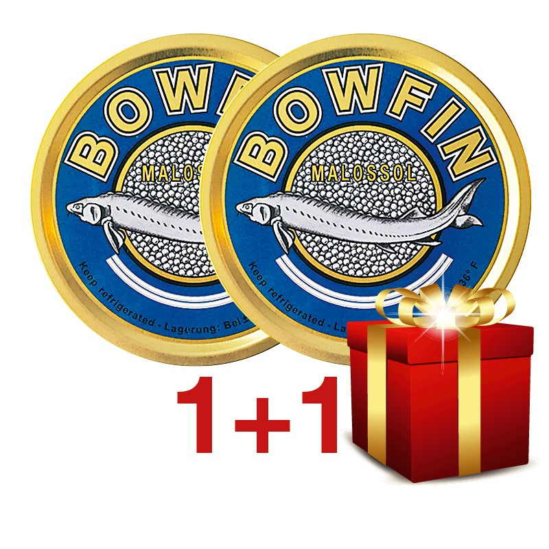 250g+250g Bowfin Kaviar
