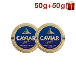 50g+50g Störkaviar Sibiria Dose