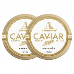 1+1 Zarendom Kaviar vom Adria Stör 250g