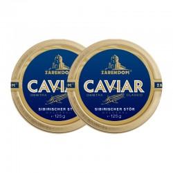 1+1 Zarendom Kaviar vom Sibirischen Stör 125g