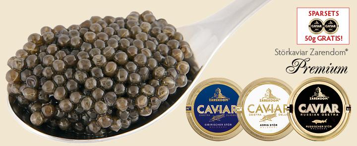 Angebot 6. Stör Kaviar Zarendom® Premium – 50g gratis
