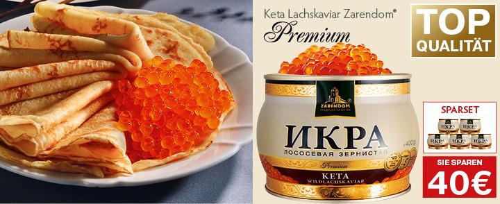 Angebot 3. Keta Kaviar Zarendom® Premium Gold. 400g nur 27€