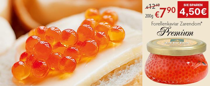 Angebot 4. Forellenkaviar Zarendom® Premium Gold